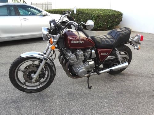 1980 Suzuki GS DARK RED photo